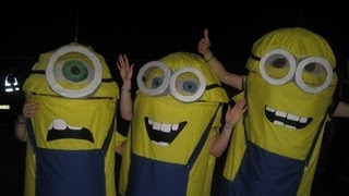 How Do You Make A Minion Costume For Children? Halloween Fancy Dress Costume - Despicable Me Movie