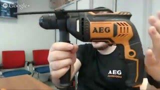 Дрель AEG SBE 705 750