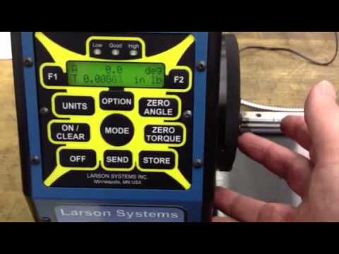 .3 inch lb torque tester Larson Systems