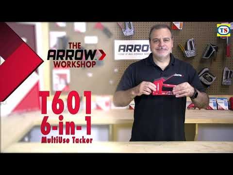 Arrow 6-in-1 Heavy Duty Staple/Nail Gun