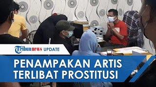 Video Detik-detik Artis ST dan Selebgram MA Digiring Polisi, Diduga Terlibat Prostitusi Online