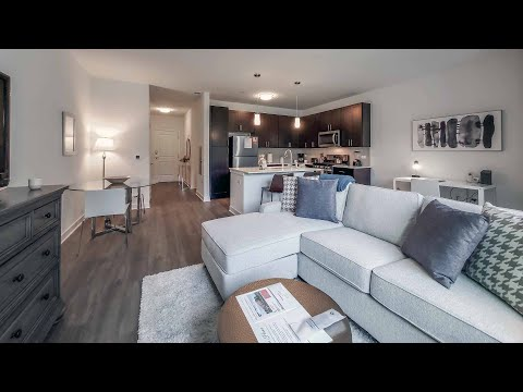 A furnished short-term -11 1-bedroom in Schaumburg at the new Element at Veridian