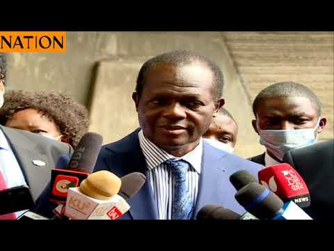 Raphael Tuju confirms Kang'ata's ouster as Majority Whip in the Senate