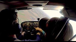 FIRE!! Execute an EMERGENCY descent. Now. - Flight Training VLOG