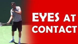 Eyes At Contact | CONTACT POINT