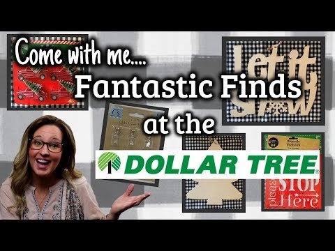 Come with Me to the DOLLAR TREE | FANTASTIC NEW FINDS