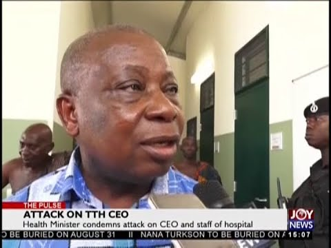 Attack on TTH CEO - The Pulse on JoyNews (15-8-18)