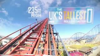 preview picture of video 'Blackpool Pleasure Beach 2014 Thrillseeker Advert (Version 2)'
