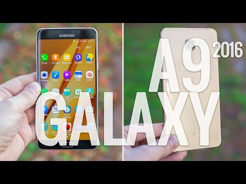 Youtube Video Samsung Galaxy A9 2016 Dual-SIM in rosegold