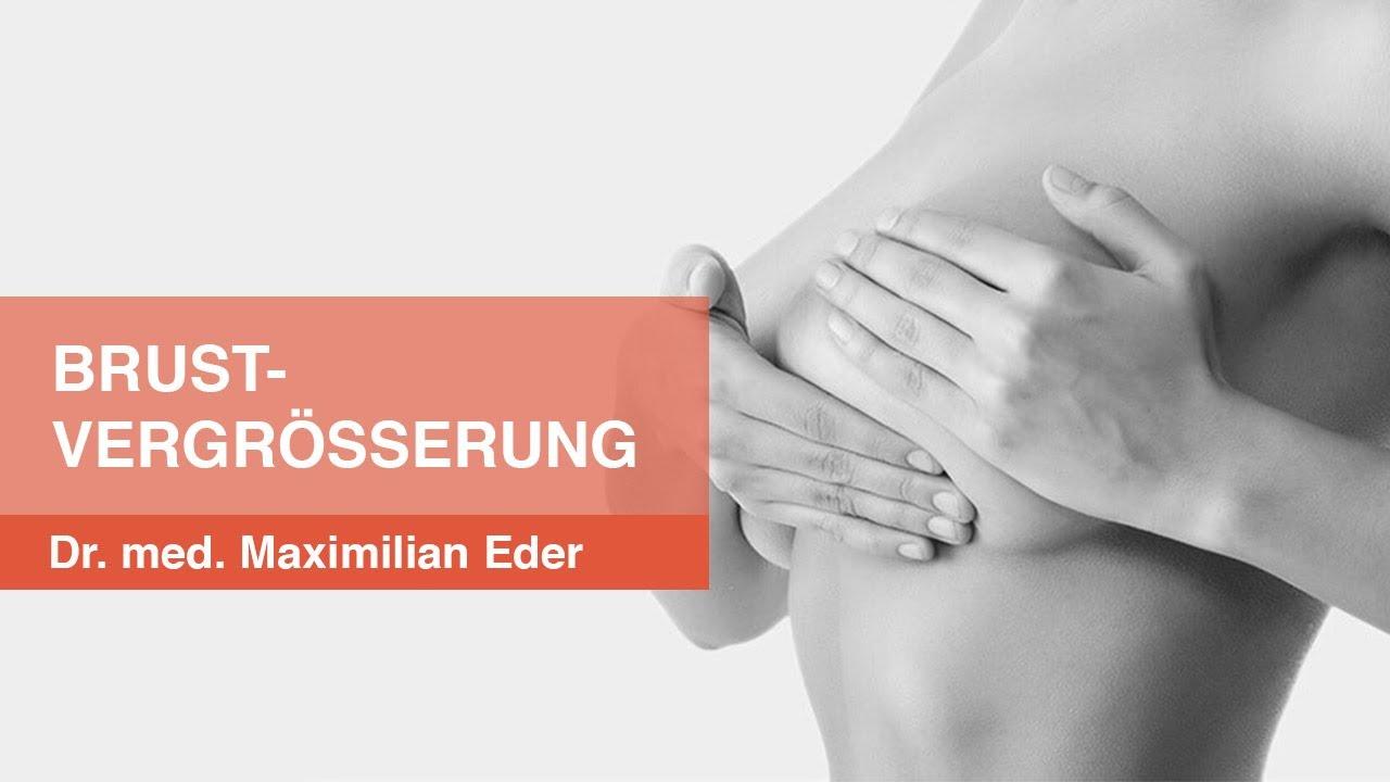 Brustvergrößerung München & Brust OP  - PD Dr. med. Maximilian Eder gibt einen Überblick.
