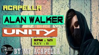 Alan Walker - Unity (Acapella - Vocal Only)