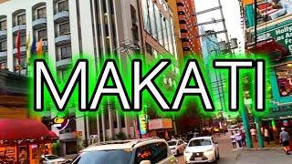 Makati Manila Philippines Walking Tour 2020 4K