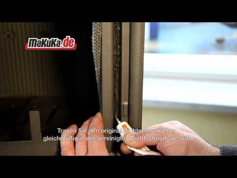 Dichtschnur, Ofendichtung am Kaminofen Ofen Kamin austauschen
