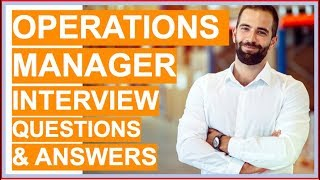 OPERATIONS MANAGER Interview Questions and Answers!