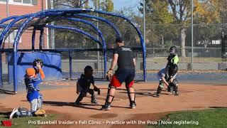 Practice with the Pros - Fall Baseball Clinic - Denver Colorado