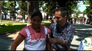 La ruta del sabor - Taco de charales. Tamal de charales. Pátzcuaro, Michoacán