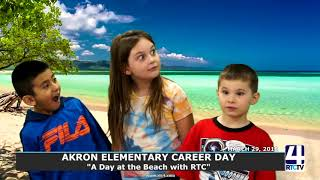 Akron Elementary Career Day Montage