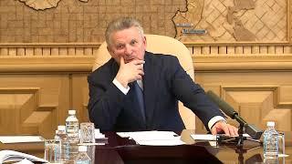 Губернатор Вячеслав Шпорт провел оперативное совещание в связи с авиакатастрофой, произошедшей в поселке Нелькан Аяно-Майского района