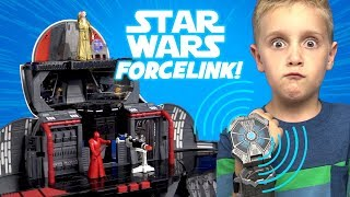 Ad: Star Wars Playtime! The Last Jedi Force Link Toys Review with BB-8 Playset by KIDCITY