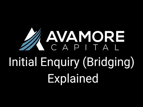 Making a Bridging Enquiry with Avamore