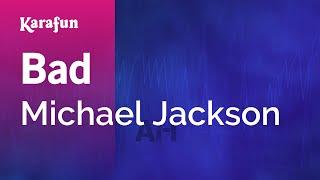 Karaoke Bad - Michael Jackson *
