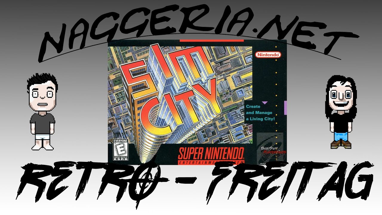 [Retro-Freitag] Sim City (SNES)