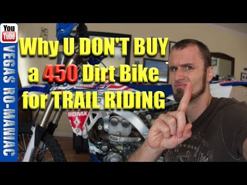👀 Do you need a 450 Dirt Bike for trail riding or is a 250 enough!? Honda CRF450R Rescue Mission🍺
