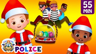 ChuChu TV Police - Saving The Christmas Surprise Eggs Gifts + More ChuChu TV Police Episodes