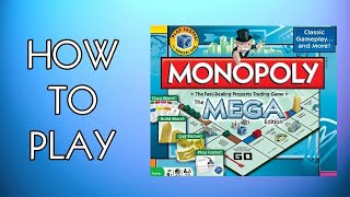 How To Play Monopoly The Mega Edition Board Game (2010)