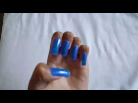 How to apply false nails without nail glue (read desc)
