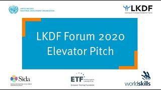 #LKDForum 2020 - Elevator Pitch (Day 2)