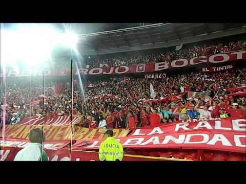 """Disturbio Rojo Bogotá/ AMERICA- miy8z (31/07/2013)"" Barra: Disturbio Rojo Bogotá • Club: América de Cáli"