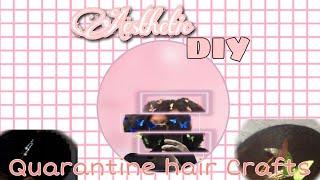 Aesthetic, DIY Hair Crafts To Do During Quarantine