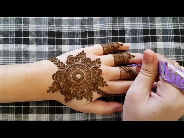 Video Mandala Henna Design 7