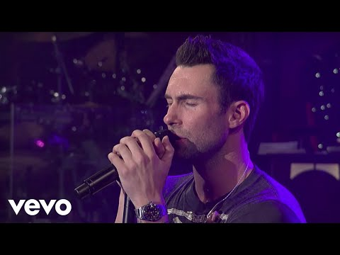 Maroon 5 – She Will Be Loved (Live on Letterman)