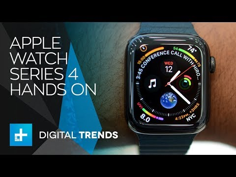 Apple Watch Series 4 - Hands On
