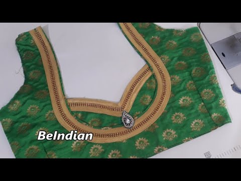 Easy blouse designs for beginners /blouse design