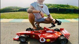 Ferrari 1/5 scale petrol rc car !!!!