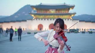 """Back In Time (OST """"The Moon that Embraces the Sun"""") Violin Cover by Kezia Amelia"""