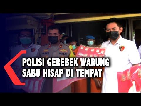 Polisi Bongkar Warung Sabu Hisap Di Tempat