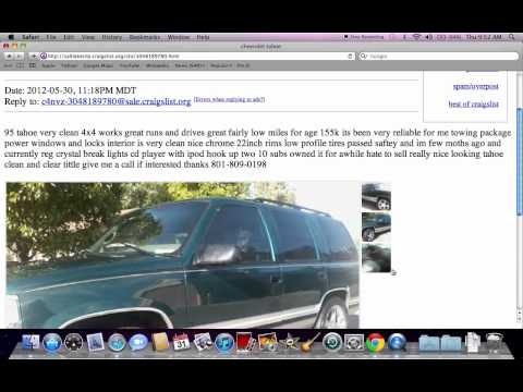 craigslist suvs used cars for sale under autos weblog. Black Bedroom Furniture Sets. Home Design Ideas
