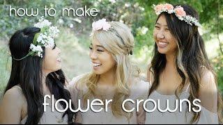 *:・゚xoxo Christine | How To Make Fairy Flower Crowns ・゚*.