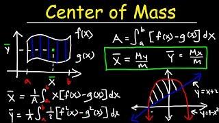 Center of Mass & Centroid Problems - Calculus