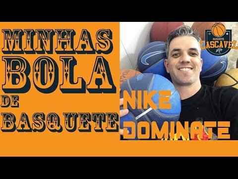 """Bola de Basquete Nike Dominate - Unbox e Review -Basquete Cascavel """"Minhas bola"""""""