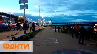 Мост Метро в Киеве захватил террорист! Как ликвидировали преступника