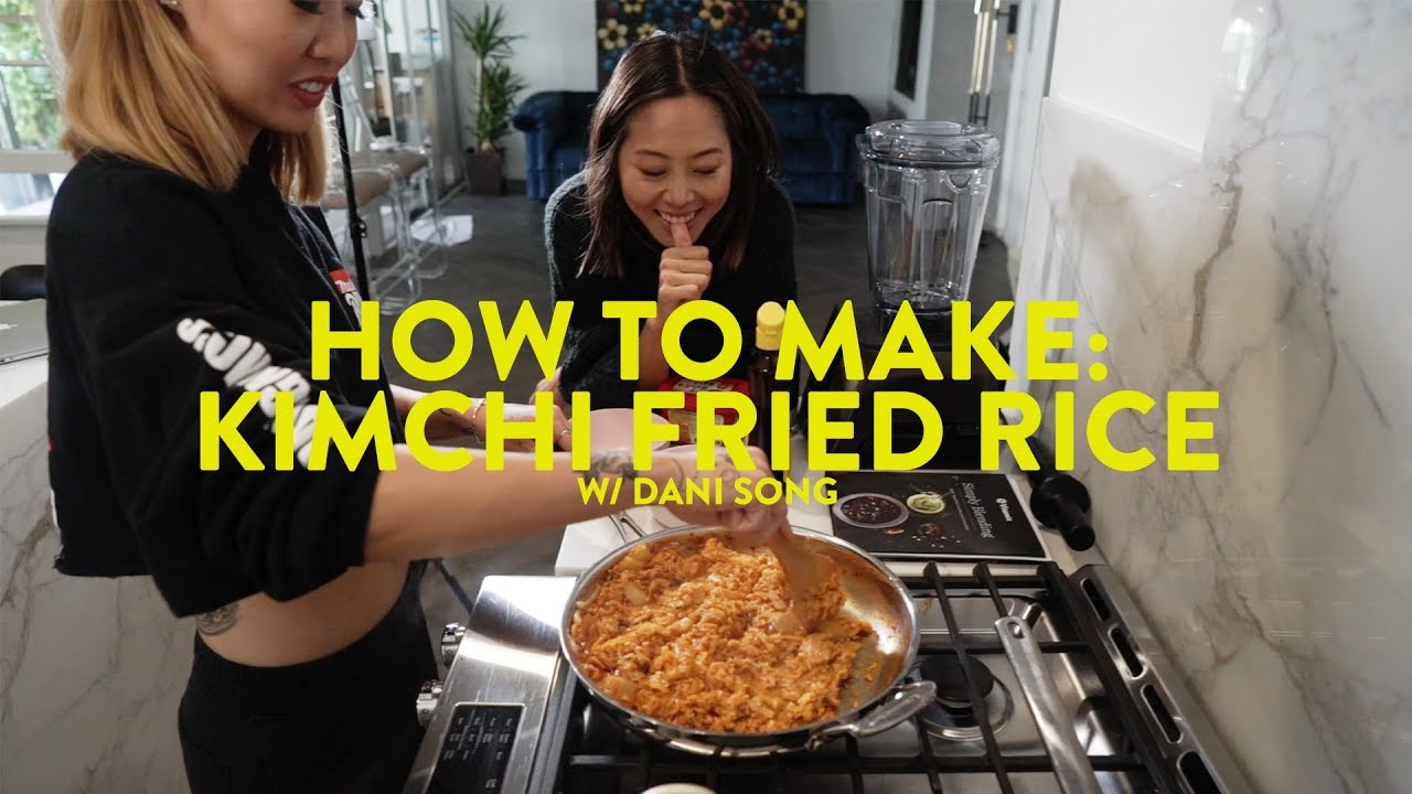How To Make Kimchi Fried Rice & Real Talk w/ Dani Song - Toxic Relationship, Breakups | Aimee Song