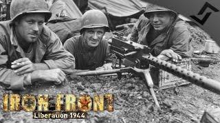 .30 cal M1919A6 Gunner - ARMA 3 Iron Front WW2 Mod - US Machinegunner Gameplay