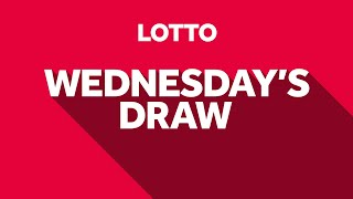The National Lottery 'Lotto' draw results from Wednesday 12th August 2020 Advert