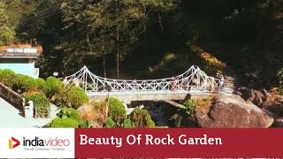 Beauty of Rock Garden in Darjeeling