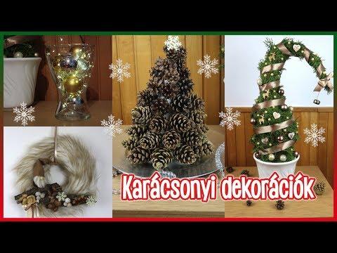 DIY Karácsonyi dekorációk Joeyval   Viszkok Fruzsi